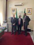 Incontro presso l'Ambasciata della Nigeria